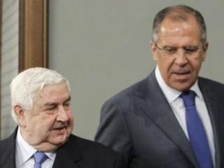 Главы МИД РФ и САР обсудили резолюцию по сирийскому химоружию