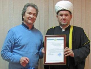 Известный оперный певец принял участие в заседании мусульман