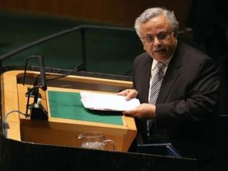 Постоянный представитель Саудовской Аравии при ООН Абдалла аль-Муаллими