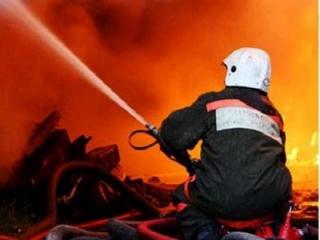 Пожар тушили жильцы дома, где расположена молельня