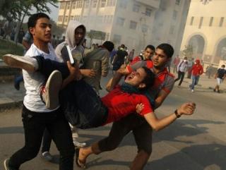Полиция расстреляла студентов на территории Аль-Азхара