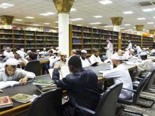 Читальный зал мечети Пророка в Медине. Такое фото рискует стать архаизмом?