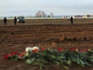 В субботу родные погибших посетили место трагедии