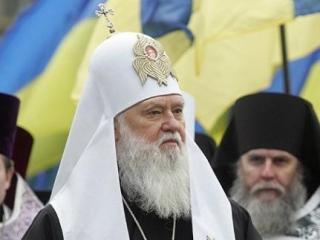 Патриарх Филарет поддержал митингующих на майдане