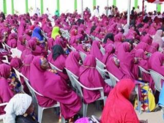 На церемонии массового никаха в Нигерии