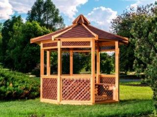Садовая беседка – самый желанный уголок сада