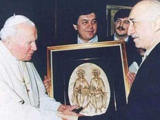 Фетхуллах Гюлен и папа Римский Иоанн Павел II