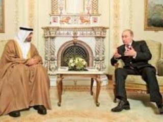 В ходе беседы Владимира Путина с шейхом Мухаммадом бин Зайедом