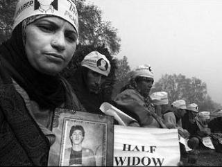 Демонстрация кашмирских «полувдов»