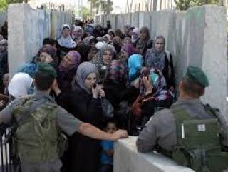 КПП на палестино-израильской границе