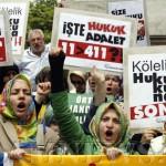 Митинг протеста в Стамбуле