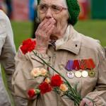 Мусульманки поздравляют ветеранов