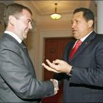Медведев и Чавес