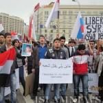 Митинг в Москве в поддержку арабских революций
