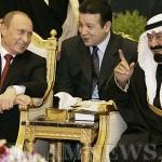 Владимир Путин и король Абдалла