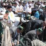 Президенты Татарстана на намазе