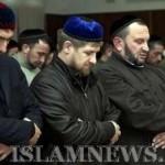 Руководство Чечни на коллективном намазе