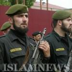 Чеченские милиционеры на страже порядка