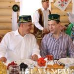 Медведев и Миниханов
