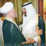 Король Саудовской Аравии и экс-президент Ирана