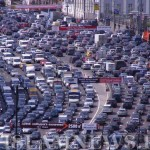 Автомобильный коллапс на улицах Москвы