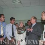 Владимир Путин в Ташкентском исламском университете. Май 2000 г.