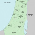 Карта Палестины 1946 года