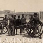 Солдаты турецкой армии в 1870 году