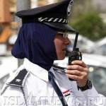 Сотрудница полиции на улице Багдада