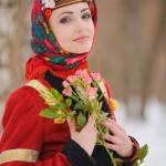 Русский национальный наряд