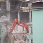 Разрушение Соборной мечети Москвы 11.09.2011