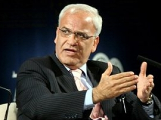 Глава делегации Палестины на переговорах с Израилем Саеб Эрекат