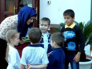 Работе с детьми в мечети «Мунира» уделяется особое внимание. Фото ДУМ Кемеровской области