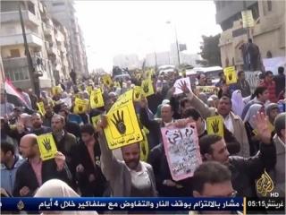 Референдум по новой конституции проходит на фоне акций протеста против военного переворота. Фото: «Аль-Джазира»