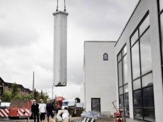 Над копенгагенской мечетью надстраивают минарет
