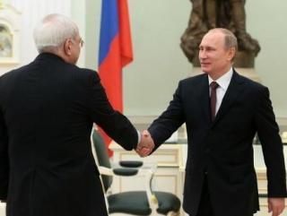 Встреча президента РФ и главы МИД Ирана (фото: пресс-служба Кремля)
