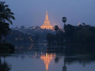 Cтолица Бирмы Янгон (Рангун)