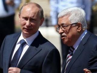 Владимир Путин и Махмуд Аббас в Вифлееме