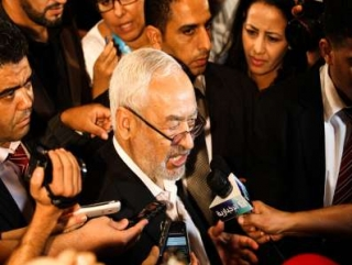 Лидер партии «ан-Нахда» Рашид Ганнуши