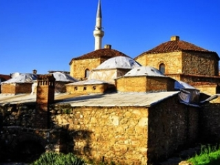 Типичный облик старинного города в Косово