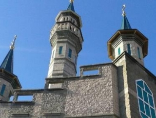 Новая мечеть в Уфе