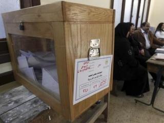 Египет. На избирательном участке