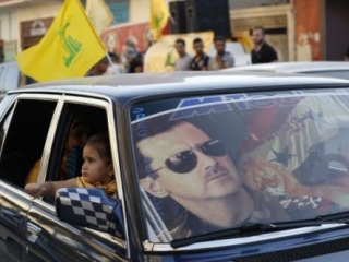Сторонники режима Башара Асада в Ливане