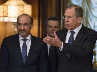 Ахмед аль-Джарба и Сергей Лавров