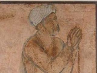 Император Акбар. читающий дуа.