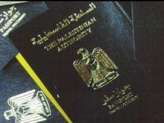 Загранпаспорт Палестинской автономии