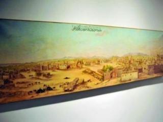 Староосманская панорама Медины 1825 г - старейший экспонат на выставке