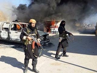 Бойцы группировки «Исламское государство Ирака и Леванта»
