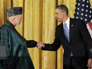 Президенты Афганистана и США