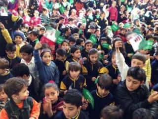 Дети сирийских беженцев в Ливане